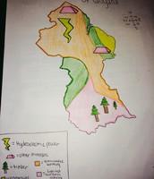 Resource/Land use Map of Guyana