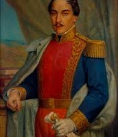 Portrait Of Francisco De Paula Santander Colombia