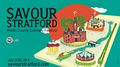 Only 2 Weeks until the Savour Stratford Festival July 19-20
