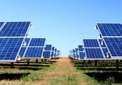 Energy farms use the suns rays