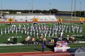 My first performance in Anna coyote marching band