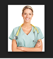 Healthtcare professionals employed by agency