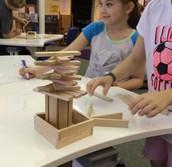 4th grade Keva plank tree