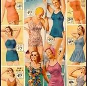 1930's swimsuit sort of looks