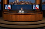 The news broadcast