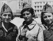 3 women going in war