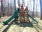 Gorilla swing set