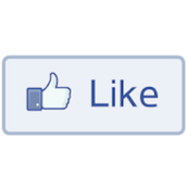 The famous like button, a main feature of Facebook