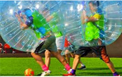 Bubble Soccer Play