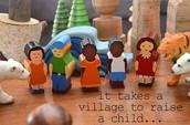 It takes a village......