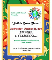 Shiloh Goes Global: Wednesday, October 26 at 6pm
