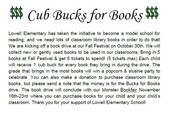 Classroom Library Book Drive