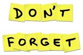 Parent Conferences - Reminder!
