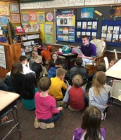 Mr. K reading to the class!