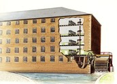 Layout of A Water Powered Textile Mill