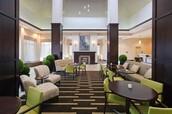 Hilton Garden Inn Hotel Lobby