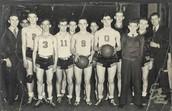 Vintage basketball team photo