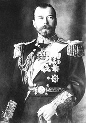 1917- (March) riots broke out in Russia.Nicholas II, the leader of the Russian Empire left his thrown.