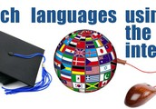 The languages that are used on the internet