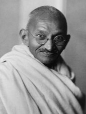 Why gandhi was famous.