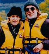 Rob Armstrong and Christine Armstrong