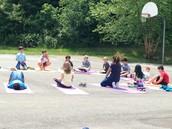 Sunshine and mindfulness!