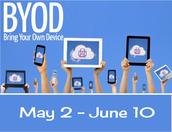 BYOD Starts this Week