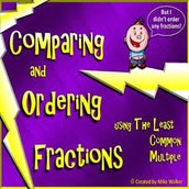 Math Corner-  4.NF.2 Revisiting Comparing Fractions with different denominators and numerators