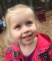 Madelyn's sweet smile at recess.