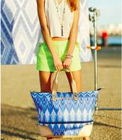 The Perfect Beach & Get Away Bag!