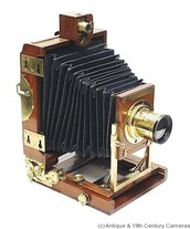 Camera from the 1800s