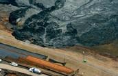 Oil Spill in Lake Michigan