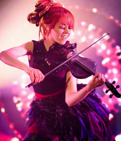 Lindsey Stirling is another one of my influences. She is so inspiring and she got through a situation with anorexia. She also is so good at what she does I mean dancing and playing the violin at the same time is pretty impressive!