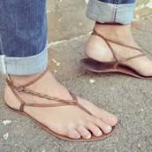 Zapatos usados en Mexico de Mujeres.