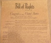 The original Bill of Rights