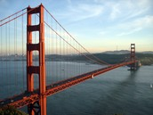 Golden Gate Bridge during day