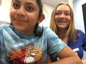 Rachel y Bella