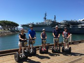 PA Region Council Member segway tour of Gaslamp District...