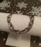 Christina Link Bracelet- Silver