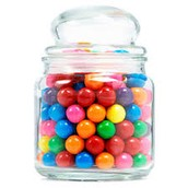 How many lollies are in the jar?