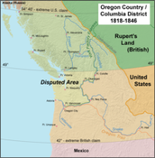 1827- UK and US jointly agree occupy Oregon