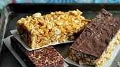 Scrumptious hearty power bars