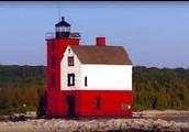 Mackinac Island lighthouse