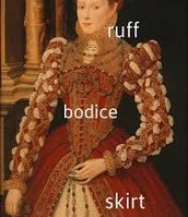 Example of Shakespearian Dress
