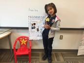 Friday's Star Student, Anaiya!