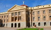 A picture of the side of the capitol in Arizona