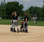 Two outs ladies!