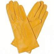 los guantes amarillo