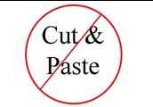Cut and Paste?