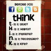 THINK b4 U Post